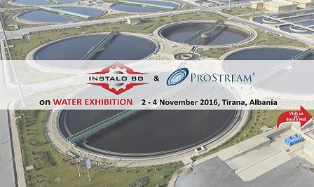 Prostream Group and Instalo BG exhibiting in Tirana