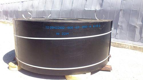 Прострийм Груп достави гумена транспортна лента
