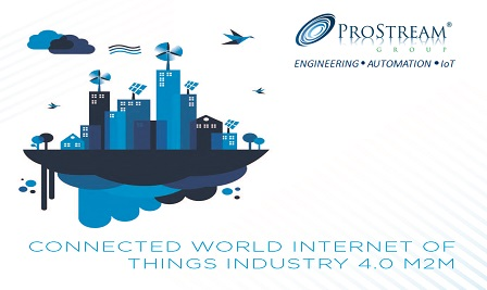 Prostream brochure in the field of IoT and Industry 4.0