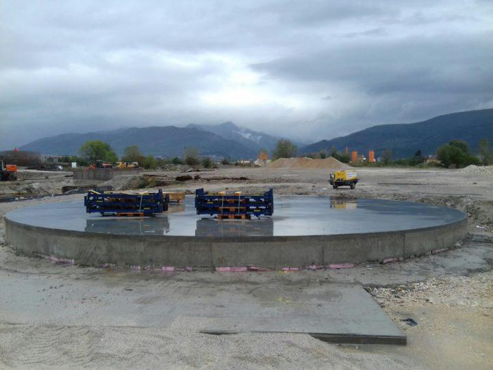 Изграждане на модулен резервоар за ПСОВ