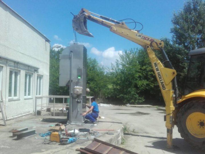 Монтаж на автоматизирана груба решетка в ПСОВ