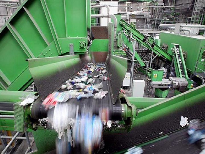 Пречистване на води в завод за рециклиране на пластмаса