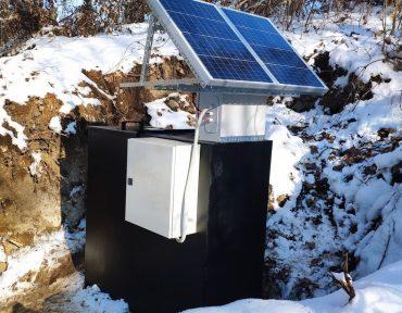 solar flowmeter
